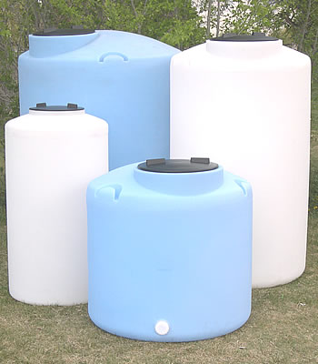 If you have room for a water tank you can easily store 500 gallons in an area 4u0027 square and the cost could be half of what you might spend on 55 ... & Water Storage Containers